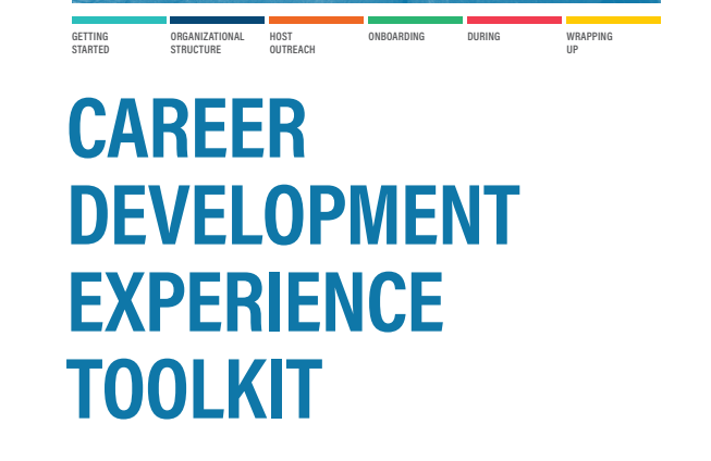 Career Development Experience Toolkit