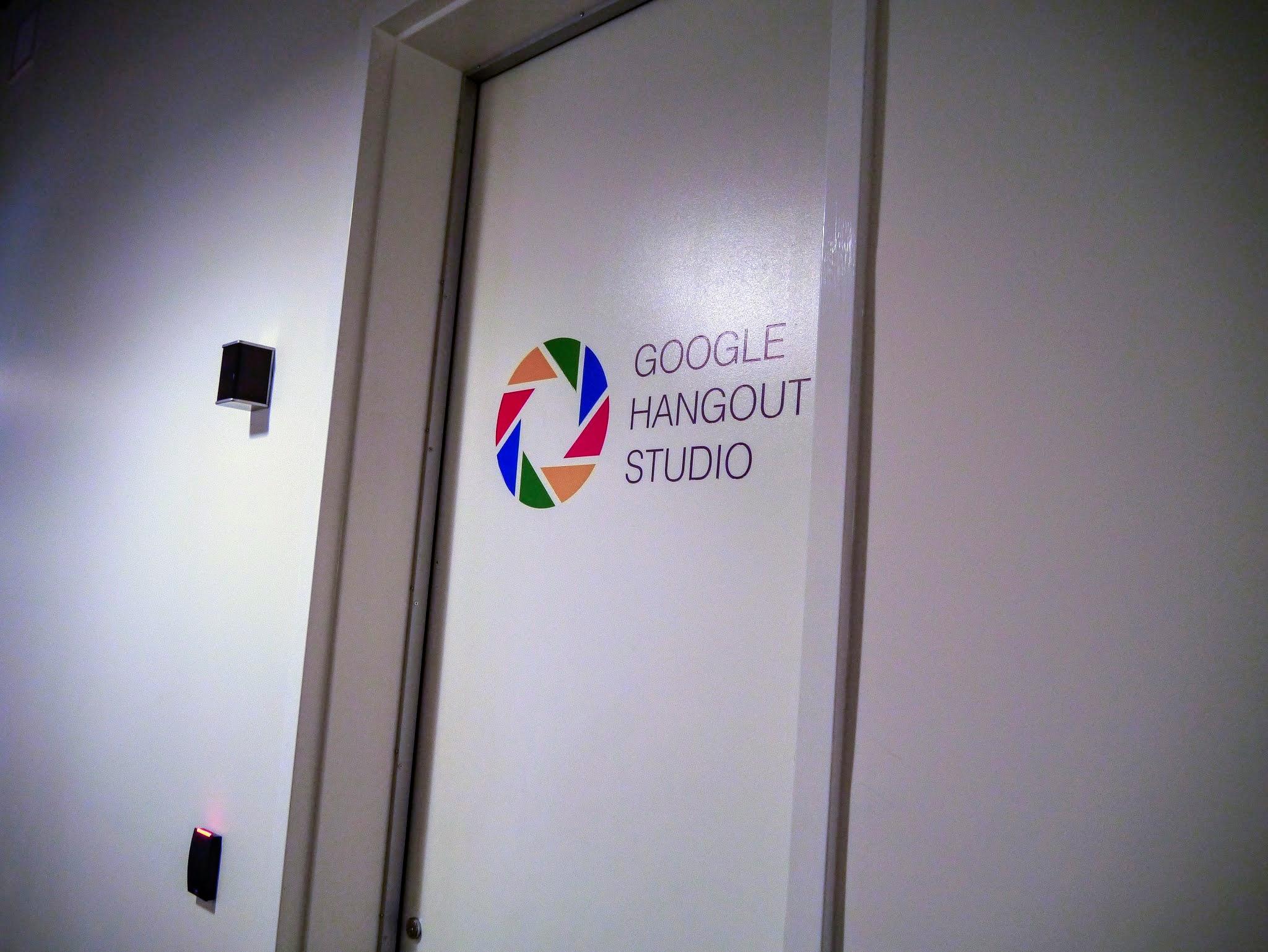 Google Hangout Studio