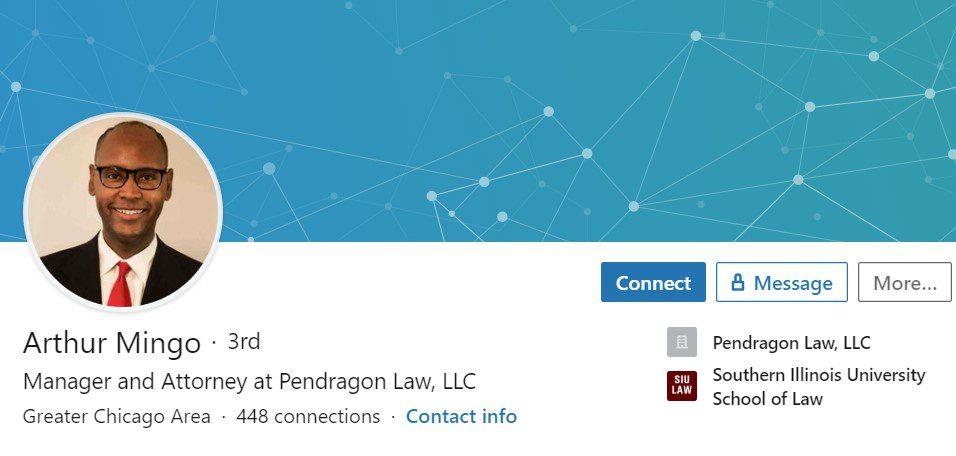 Arthur Mingo – LinkedIn Profile