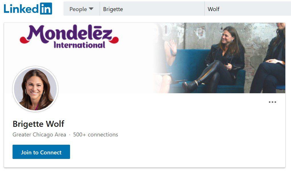 LinkedIn Profile – Brigette Wolf