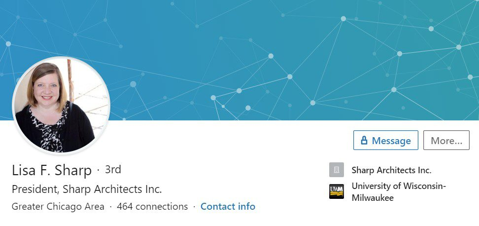 Lisa Sharp – LinkedIn Profile