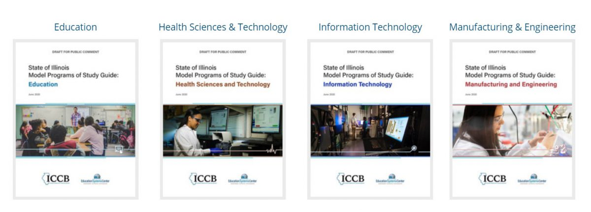 Model Programs of Study Guides