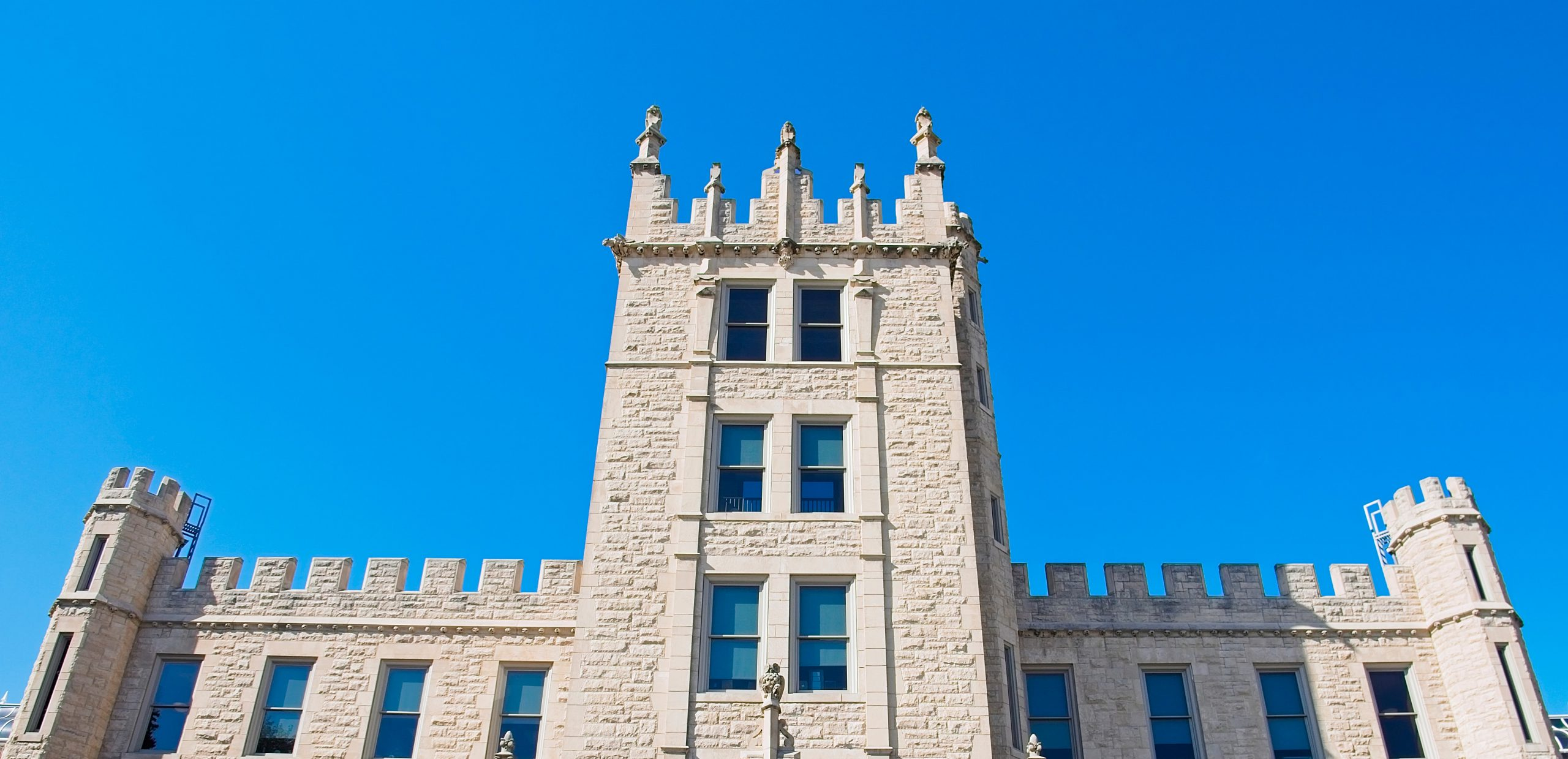 Altgeld Hall - Blue Skies
