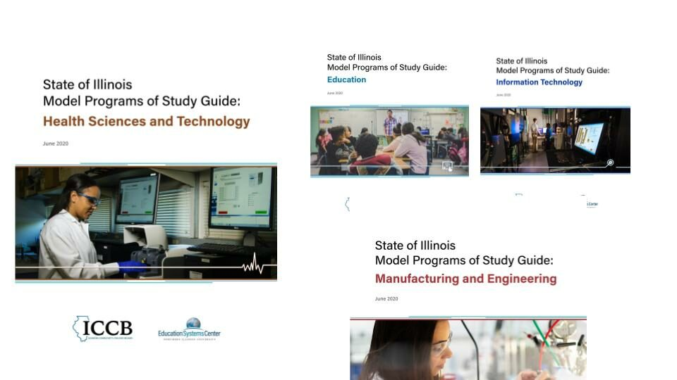 Model Programs of Study Guides Covers