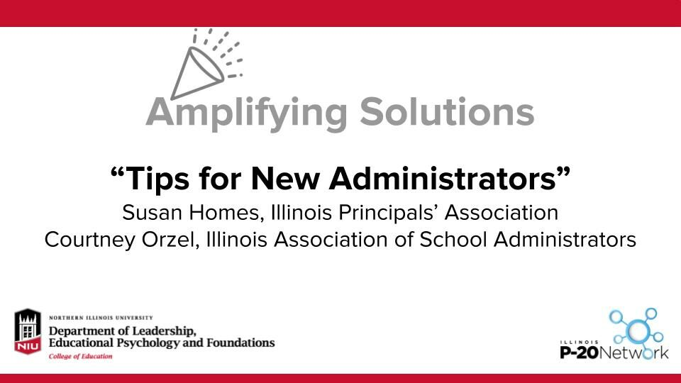 Amplifying Solutions Tips for New Admins Title