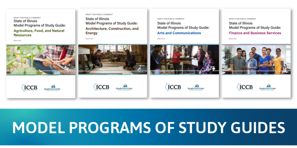 Model Programs of Study Guides Header