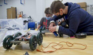 Robotics Students